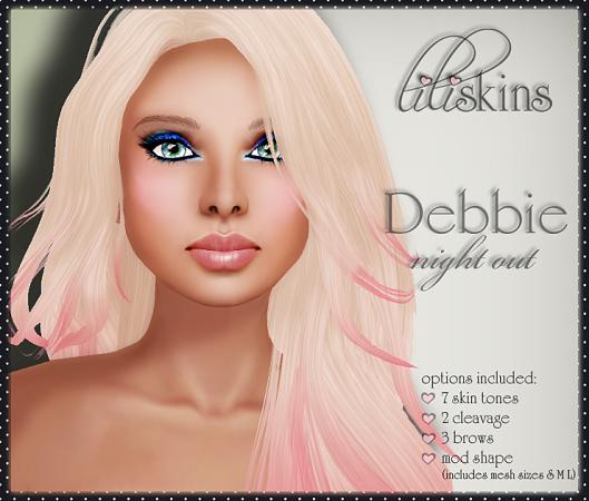 Liliskins Ad - Debbie Night Out
