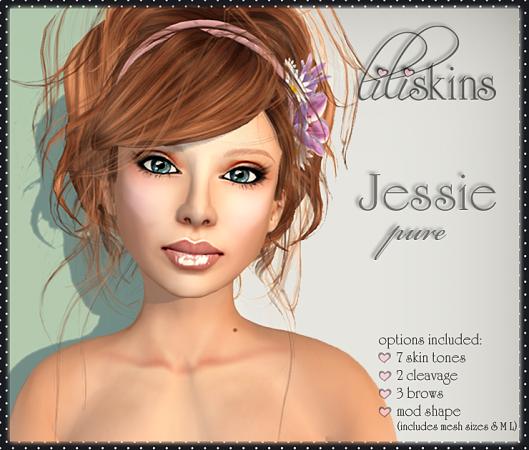 Liliskins Ad - Jessie Pure