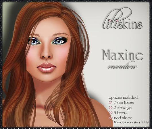 Liliskins Ad - Maxine Meadow