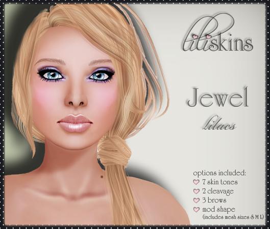 Liliskins Ad - Jewel Lilacs